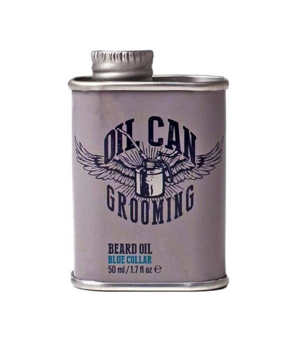 Oil Can Blue Collar